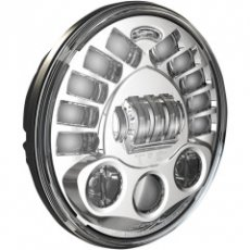Led koplamp adaptief 18cm chrome